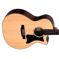 Sigma GRC-1STE Semi Acoustic - Natural