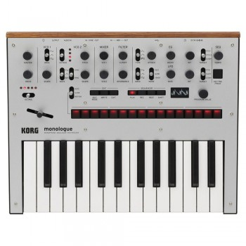 Korg Monologue - Monophonic Analogue Synthesizer in Silver