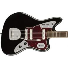 Squier Classic Vibe '70s Jaguar w/ Laurel Fingerboard - Black