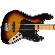 Squier Classic Vibe '70s Jazz Bass, Maple Fingerboard, 3-Color Sunburst