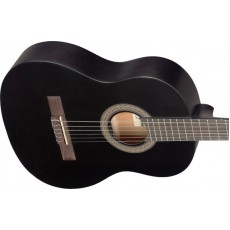 Stagg C430M Linden 3/4 Size Classical Guitar, Black