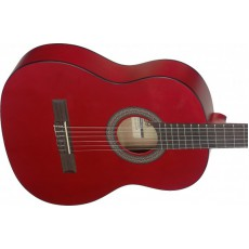 Stagg C430M Linden 3/4 Size Classical Guitar - Red