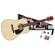 Fender CD-60 Acoustic Pack - Natural