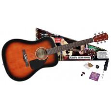 Fender CD-60 Acoustic Pack - Sunburst