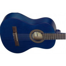 Stagg C410M Linden 1/2 Size Classical Guitar, Blue