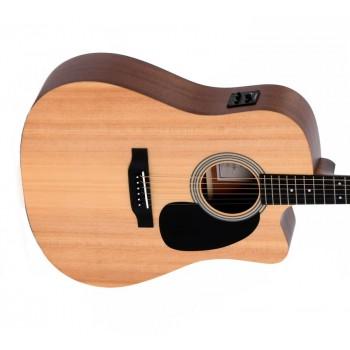 Sigma DMC-STE+ Dreadnought Semi Acoustic Guitar