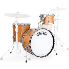 Gretsch Broadkaster 12/16/22 Vintage USA Shell Pack, Satin Classic Maple
