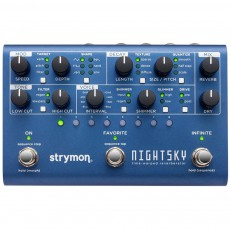 Strymon Night Sky Reverb Workstation