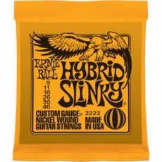 Ernie Ball 2222 Hybrid Slinky Light Electric Strings (.009-.046)