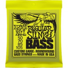 Ernie Ball 2832 Regular Slinky Heavy Bass Strings (.050-105)