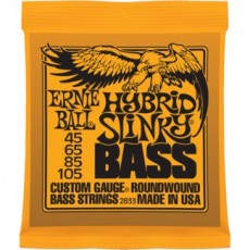 Ernie Ball 2833 Hybrid Slinky Light To Medium Bass Strings (.045-.105)