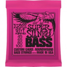 Ernie Ball 2834 Super Slinky Light To Medium Bass Strings (.045-100)
