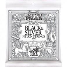 Ernie Ball Ernesto Palla 2406 Nylon Black & Silver Set