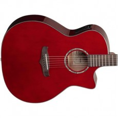 Tanglewood TVCTWR Semi Acoustic - Wine Red Gloss