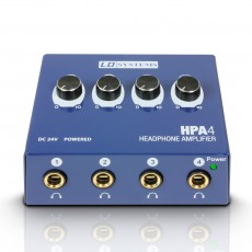 LD Systems HPA4, 4-Channel Headphone Amplifier