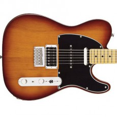 Fender Modern Player Telecaster Plus, Maple Fingerboard - Honey Burst