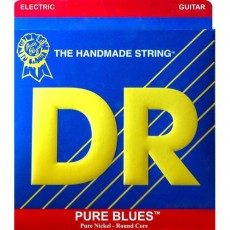 DR Strings PHR-9 Pure Blues Nickel Light Electric Strings (.009-.042)