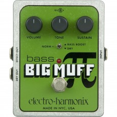 Electro Harmonix Bass Big Muff Pi, Distortion/Sustainer Pedal