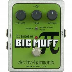 Electro Harmonix Bass Big Muff Pi, Distortion/Sustainer Pedal
