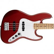 Fender Standard Jazz Bass Maple Fretboard, Candy Apple Red