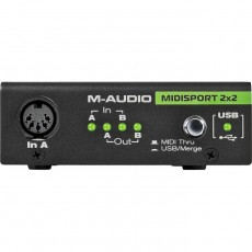 M-Audio Midisport 2x2 Anniversary Edition USB MIDI Interface