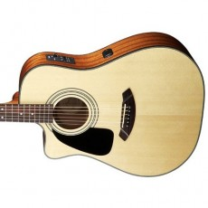 Fender Left Handed CD-100 CE LH  Semi Acoustic - Natural