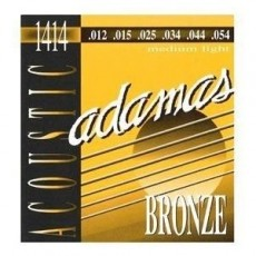Adamas 1414 Bronze 12-54 Gauge Acoustic Guitar Strings