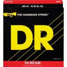 DR Strings MR-45 Hi-Beam Stainless Steel Medium Bass Strings (.045-.105)