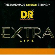 DR Strings EXR-13 Extra Life Clear Coated Phosphor Bronze Medium To Heavy Acoustic Strings (.013-.056)