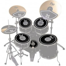 Pearl RP50 Rubber Disk Set
