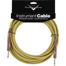 Fender Custom Shop Performance Series Instrument Cable - 20' Tweed