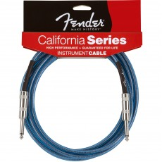 Fender California Series Instrument Cable - 20' Blue