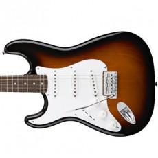 Fender Squier Left Handed Affinity Stratocaster, Rosewood Fingerboard - Brown Sunburst