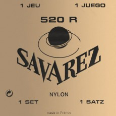 Savarez 520R Rouge Nylon Classical Set Of Strings