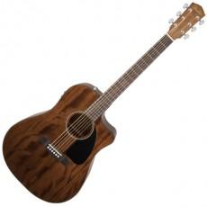Fender CD-60 CE Acoustic - All Mahogany