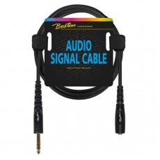 Boston jack f to jack m stereo, headphone extender, 9m