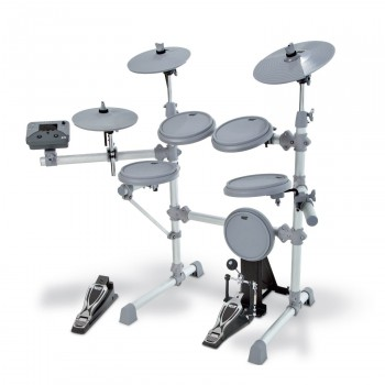 KAT Percussion KT-1 5-pc Digital Drum Kit with Kick Pedal