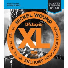 D'Addario EXL110BT Balanced Tension Lite Electric Strings (.010-.046)