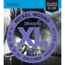 D'Addario EXL115BT Nickel Wound Medium Electric Strings (.011-.050)