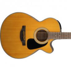 Takamine GF30CE NAT FXC, Natural Gloss, Solid Spruce Top, Mahogany Acoustic Guitar
