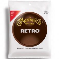 Martin MM12 Monel Retro Light Acoustic Strings (.012-.054)
