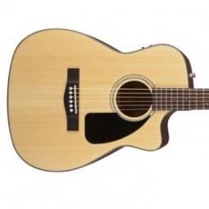 Fender CF-60CE Folk Semi Acoustic - Natural (Includes Case)