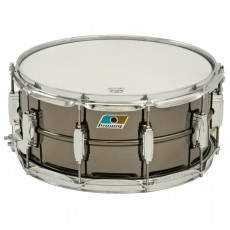 """Ludwig LB417 Black Beauty Brass Shell 6.5""""x14"""" Snare Drum"""
