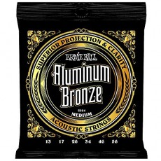 Ernie Ball 2564 Aluminum Bronze Custom Light Acoustic Strings  (.013-.056)