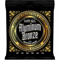Ernie Ball 2566 Aluminum Bronze Medium Light Acoustic Strings (.012-.054)