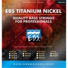 EBS CM-5 5-String Titanium Nickel Classic Medium Bass Strings (.045-.128)