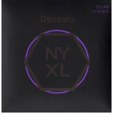 D'Addario NYXL1149 Nickel Wound Medium Electric Strings (.011-.049)