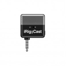 IK Multimedia iRig Mic Cast - Voice Recording Mic for iPhone/iPad