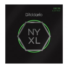 D'Addario NYXL0838 Nickel Wound Extra Super Light Electric Strings (.008-.038)