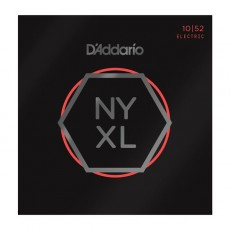 D'Addario NYXL1052 Nickel Wound Light Top Heavy Bottom Electric Strings (.010-.052)